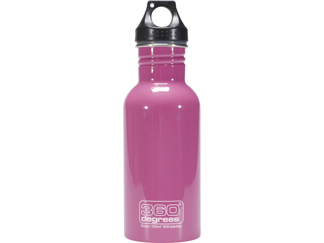 360° degrees Stainless Gourde 0.5 l, pink
